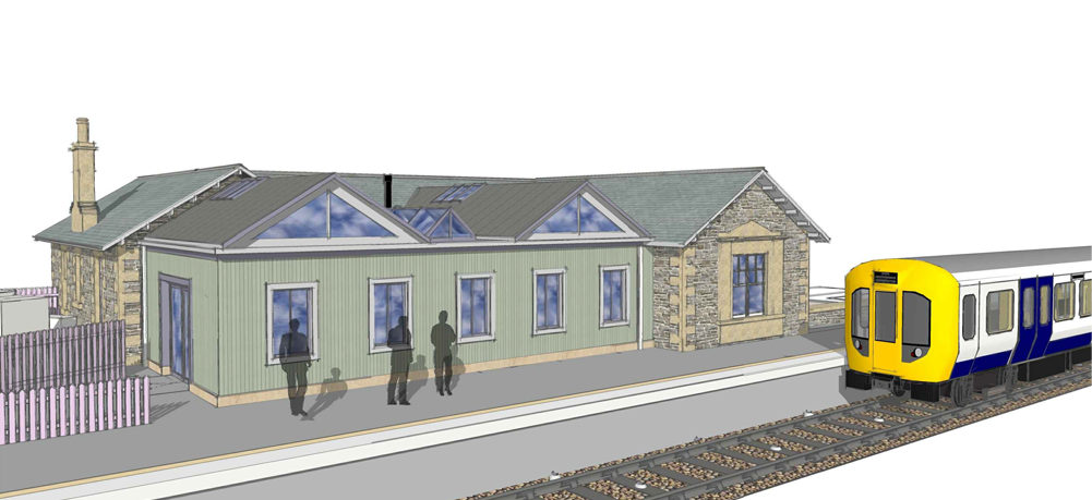 Platform elevation with new extension