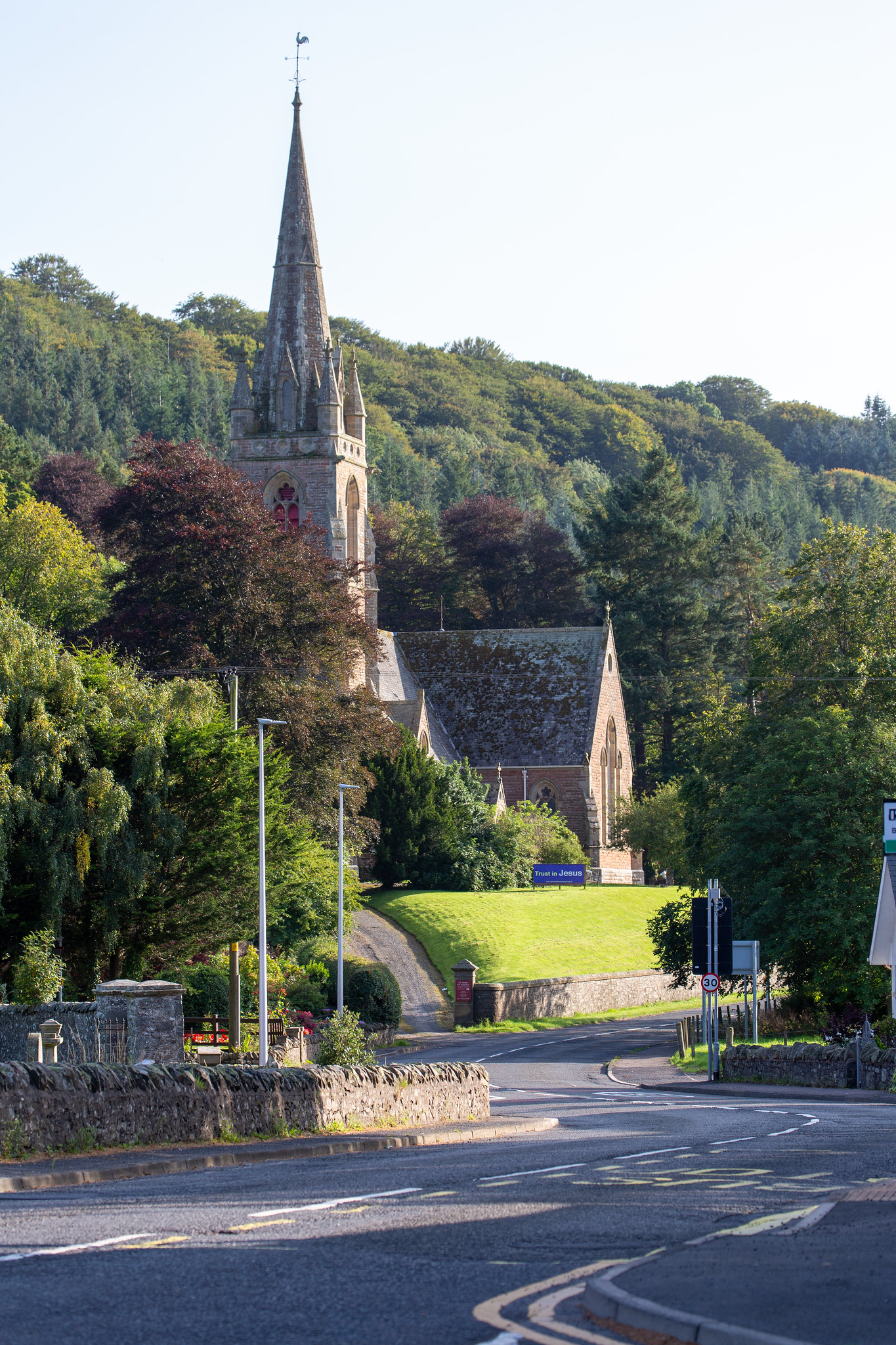 St Mary's of Wedale, Galashiels Road, Stow