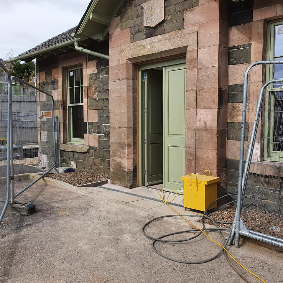 Station House nearing completion